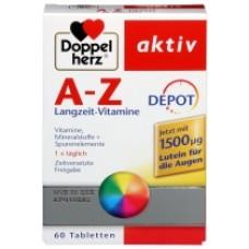 A-Z Luteina 60 cpr Doppel Herz