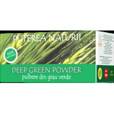 Deep Green Pulbere din Grau Verde , 30 pliculețe